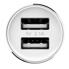 Автомобильное зарядное устройство с fm-трансмиттером Xiaomi Roidmi 2.1 A (белый)