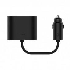 Автомобильный разветвитель Xiaomi Roidmi на 2 розетки (черный)