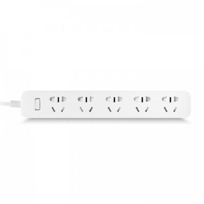 Купить Удлинитель Xiaomi Mi Power Strip (5 розеток, белый)
