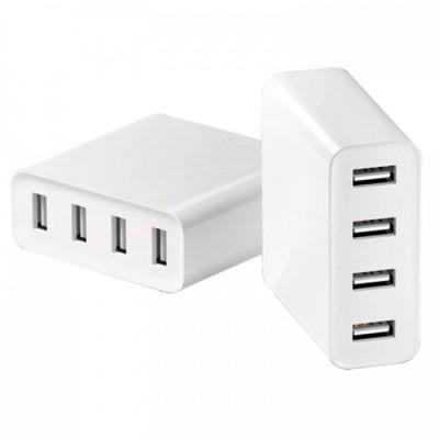 Купить Сетевое зарядное устройство Xiaomi 4 USB